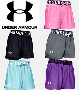 Under Armour Girls Youth Shorts Play Up 3.0 Running Work Out FREE SHIP 1351714 $14.99