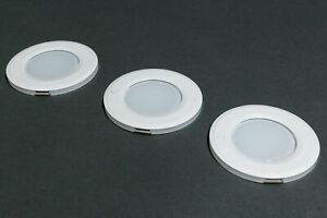 Puck Lights 3 Pack Ultra-Thin Dimmable Under Cabinet Intelligent Control