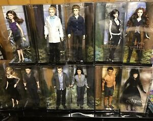 NRFB Barbie Set Of 11 Twilight  Dolls Great Condition