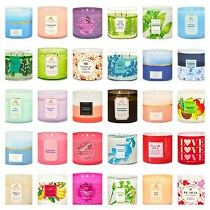 Bath amp; Body Works White Barn 3 Wick Candles*Free Shipping*Pick your Scent $26.60