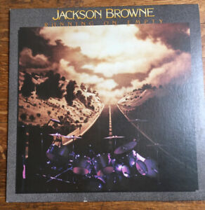 1977 Original JACKSON BROWNE LP RUNNING ON EMPTY Preowned In Good Condition $6.99