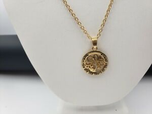 Gold Tone Mom Family Tree Necklace N10 $7.99