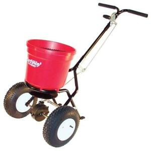 EARTHWAY Broadcast Spreader Push Compact Commercial 50 lb. Capacity Hopper New