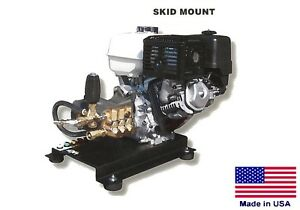 PRESSURE WASHER Commercial - Skid Mounted - 4 GPM - 4000 PSI - 13 Hp Honda - AR