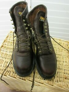 Carolina Boots: Men#x27;s 8510 Grizzly Hi Steel Toe Work Boots Size 8.5 D