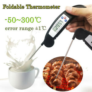 1X Kitchen Instant Digital Accessorie BBQ Food Cooking Grill Smoker Thermometer $8.79