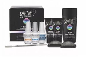 GELISH POLY GEL FRENCH KIT ON SALE Same day shipping $155.00
