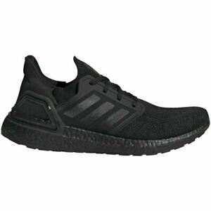 Adidas Men's Ultra Boost 20 Shoes NEW FREE SHIPPING TRIPLE BLACK EG0691