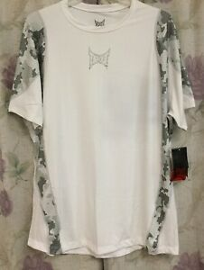 Tapout Combat Workout Training Fighter Athlete Tee Dri Fit Shirt XXL Camo New 2X $27.00