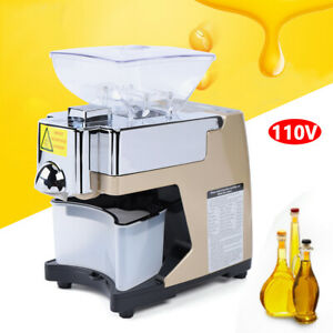 Automatic Oil Press Machine 450W  for home business use Seed Peanut Presser Mill