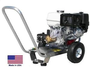 PRESSURE WASHER Portable - Cold Water - 4 GPM - 3500 PSI - 12 Hp Honda Eng  AR