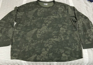 Under Armour Coldgear L S Thermal Green Camo Shirt Size 3XL Camouflage $29.99