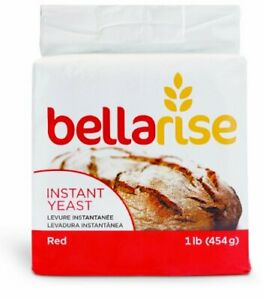 BELLARISE (RED) INSTANT DRY YEAST 1lb FAST ACTING- Bread Bagel Muffins EXP 01/22