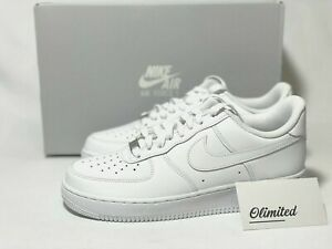 NIKE Air Force 1 Low #x27;07 TRIPLE WHITE Men#x27;s amp; GS ALL SIZE 315122 111 314192 117 $113.95