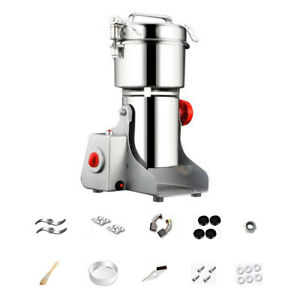 New Electric Grain Spices Cereals Coffee Dry Food Mill Grinding Machines U2Y5