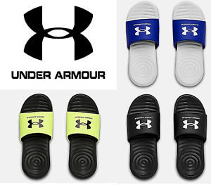 Under Armour Youth Boys Ansa Fix SL Slides Sandals NEW FREE SHIP 3023789 $15.99