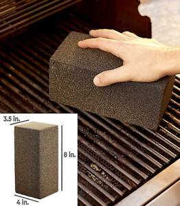 GRILL BRICK CLEANER STONE, GRILL, GRIDDLE, BBQ SCRAPER REMOVES FOOD