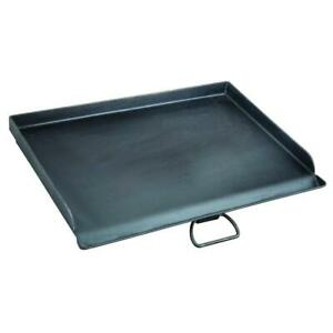 Camp Chef 18quot;.x 24quot; Seasoned Steel Professional Griddle Extra Large Heavy Duty