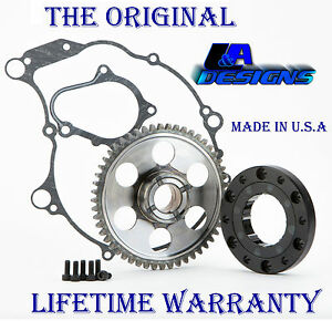 2004 2005 LA Designs Yamaha Raptor 660 one way Starter Clutch bearing and Gear