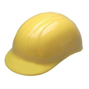 ERB Bump Cap Head Work Safety Vented 4 Point Plastic Suspension Pin Lock Yellow $4.99