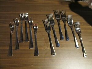 Set of 12 Cambridge Stainless Dinner & Sea Food Forks Brand New! Free Shipping