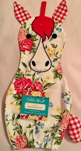 The Pioneer Woman Sweet Rose Horse Reusable Bag Saver, New