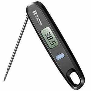 Habor, Digital Cooking Kitchen Thermometer Instant Read Sensor with Foldable Pro