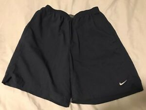 Nike Dri Fit Men's Running Shorts Lined Blue Size Small TS8 $29.99