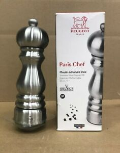 Peugeot Paris Chef Stainless Steel Pepper Mill 18 cm 7 inches 32470 8