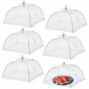 Mesh Food Cover Screen Covering Bugs Insect Protector Large Dome Canopy Set NEW