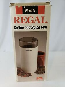 Regal Coffee And Spice Mill #K7450  - Grind it Fresh! - New & Free Shipping