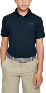 Under Armour 188817 Kids Boys Golf Polo T Shirt Blue Size Youth X Large $23.20