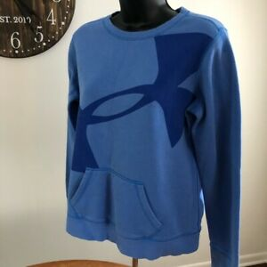 Under Armour Girl's XL Light Blue Logo Sweatshirt $11.99