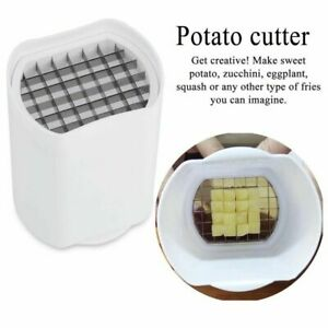 New Kitchen Fries One Step French Fry Cutter Potato Vegetable Fruit Slicer Tools