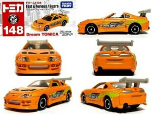 USA seller Tomica 148 The Fast and the Furious Toyota Supra Takara Tomy