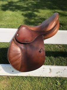 "CWD Sellier 16.5"" Saddle In Good Condition Serial No. 165 TC 1L 238 01 France"