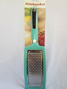 KITCHENAID AQUA SKY FLAT CHEESE GRATER ZESTER