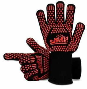 Nomex High Temperature BBQ / Grill Gloves For Cooking, Baking, Hot Metal Working