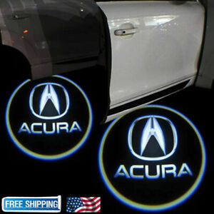 For ACURA TLX RLX MDX TL ZDX LED Laser Door Logo Ghost Shadow Projector Lights $15.88