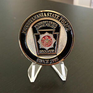 Pennsylvania State Trooper Police Authentic New Challenge Coin $24.99