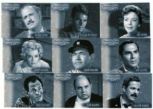 2020 Twilight Zone Archives Edition Stars of the Twilight Zone 18 card set