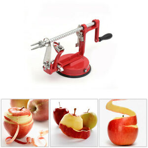 US 3 in 1 Apple Pear Peeler Slicer Corer Potato Cutter Parer Fruit Dicer Kitchen