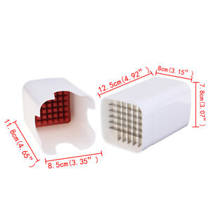 FrenchFry Cutter Perfect One Step  Natural Fries Vegetable Fruit Durable Potato