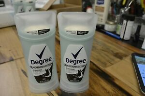 DEGREE Motion Sense Ultraclear Black+White Invisible Solid 48hr 2.6-OZ Pack of 2 $8.49