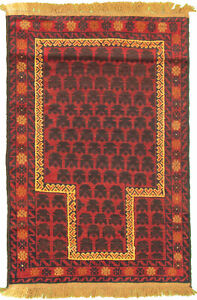 Hand-knotted Carpet 2'10