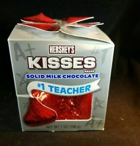 Hershey's Giant Milk Chocolate KISS 7 Oz BB 10/2020 #1 Teacher HTF GIFT!