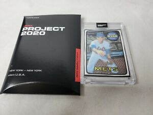 Topps Project 2020 Nolan Ryan #87 by Joshua Vides New Mets Baseball Card
