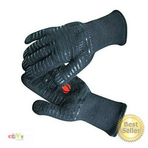 BBQ Gloves Extreme Heat Resistant for Baking, Smoking, Cooking, Grilling, – More
