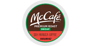 McCafe Coffee Keurig K-Cup 72 Packs (Decaf Premium Roast)