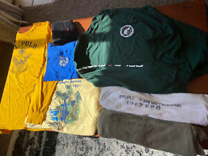 Polo Sport Ralph Lauren Short And Long Sleeve Lot Graphic T shirts Lot Of 7 $12.50